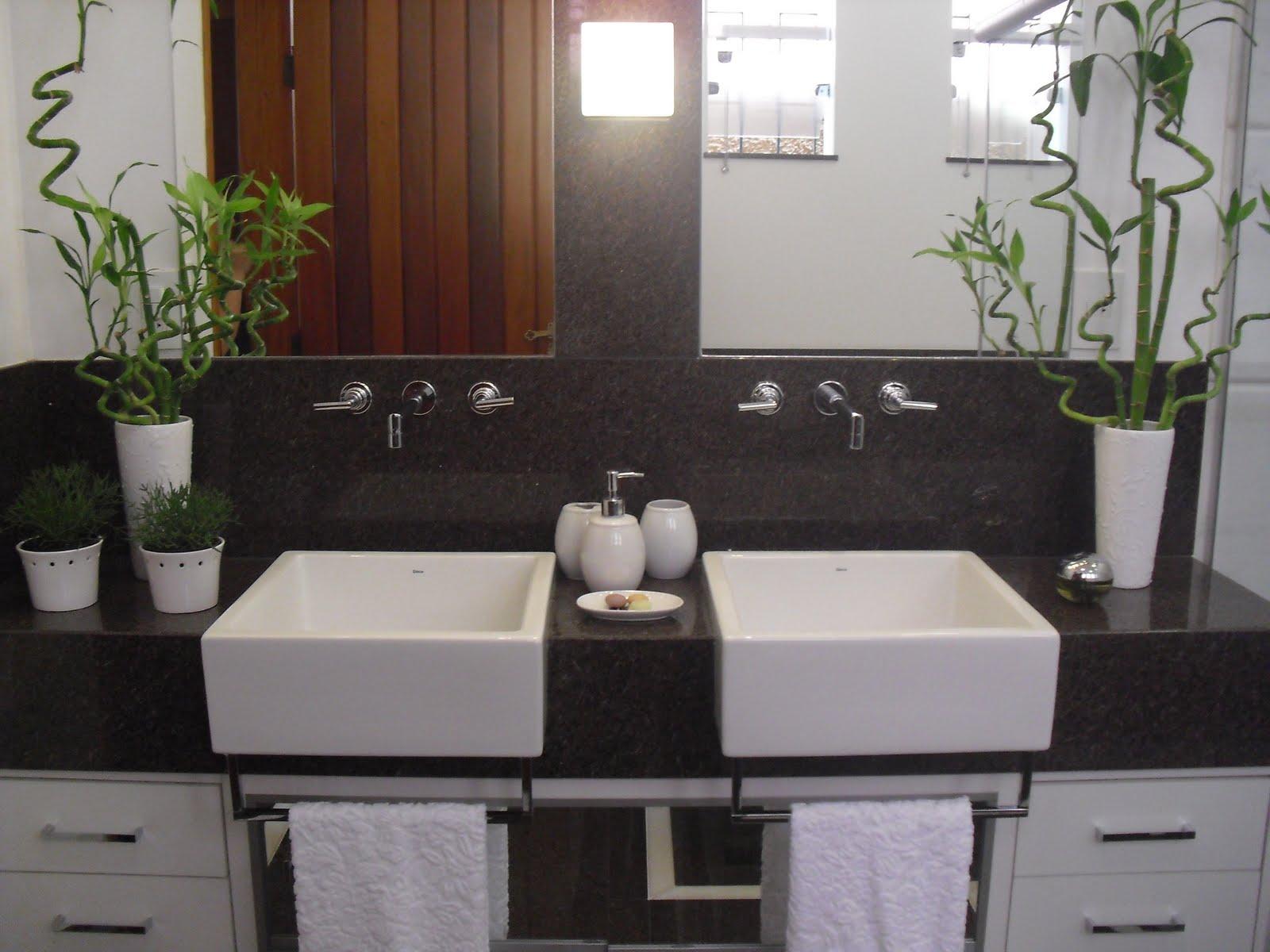 Revestimentos para cozinhas e banheiros  Cup Design -> Decoracao De Banheiro Com Bancada De Granito